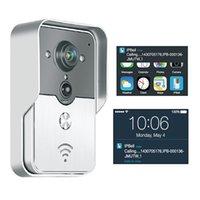 Wholesale 2016 Video Intercom H p Wifi Video Door Phone g Doorbell Wifi Support Wireless Unlock Ios Android App Quality Choice Most Popular