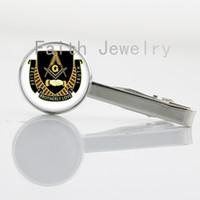 Wholesale 2016 new fashion Masonic jewelry vintage Masonic sign tie clip trendy Masonic symbol men accessory retro gentlemen tie pin NS275
