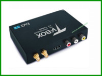 Wholesale 160km h Double Antenna Car DVB T2 Mobile Digital TV Box External USB DVB T2 Car TV Receiver Russian Europe Southeast Asia P003