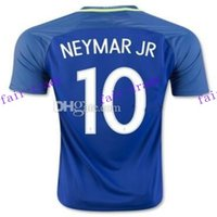 away ronaldinho - brazil neymar jr away soccer jerseys shirts thai quality copa america ronaldinho football jerseys ronaldinho soccer wear_
