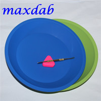 Wholesale FDA heat resistant silicone tray Deep Dish Round Pan friendly Non Stick Silicone Container Concentrate Oil BHO silicone tray