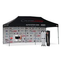Wholesale AbcCanopy full digital printed x20 Custom Canopy tent Gazebo with ft back wall