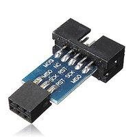 adapter board converts - Pin Convert to Standard Pin Adapter Board AVRISP USBASP STK500