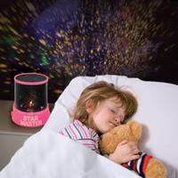 Nouveau parti Changement 8 Conception Light Star Galaxy LED Maître Starry Sky projecteur couleur noël Magic Night Lamp pour le cadeau Enfants