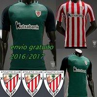 Wholesale Em estoque nuevo Retro camisa cathletic bilbao Athletic Bilbao camisa de futebol