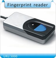 Wholesale Digital Persona USB Biometric Fingerprint Scanner Fingerprint Reader URU5000 Free SDK in stock optical sensor