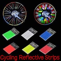 Wholesale Cycling Reflective Strips Bicycle Hot Wheels Bike Parts Accessories Wheel light bar