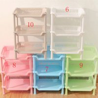 magazine rack - Shelf Kitchen Storage Detachable Three layer Magazine Rack Bathroom Shower Shelf Pp Plastic Rack Floor Type Bathroom Shelves