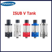 Wholesale Original Innokin ISub V TC Tank Atomizer ml iSubV Vortex Adjustable Airflow Removable Drip Tip Genuine DHL Free
