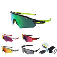 Wholesale 11 Colors New Brand Original Design Polarized Radar EVED Path Sunglasses Mens Cycling Running Sport Sun Glasses