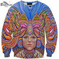 american buddha hoodie - Sweatshirt Hot sales Women Hoodies Harajuku Style Sweatshirts D Pullovers colored waves Buddha Sportswear Tracksuits