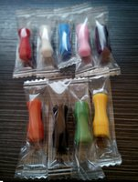 Wholesale Colorful Silicone Mouthpiece Cover Drip Tip Disposable Silicon testing caps rubber short ego ecigTest Tips Tester Cap drip tips DHL free