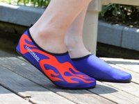 aqua print fabric - 2016 Summer Men Women Fashion Couples Casual Shoes Freely Barefoot Water Skin Unisex Shoes Aqua for Beach Swim Surf Exercise size36