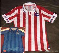 Wholesale DHL Mixed buy NEW year anniversary Guadalajara Chivas jersey Cougars Mexico Chivas Home Soccer Jersey Football Shirt