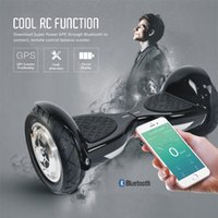 app mobile phone - New Arrivals inch Bluetooth Music Hoverboard Mobile Phone APP REMOTE CONTROL Scooters wheel Smart Self balancing Electric Scooters
