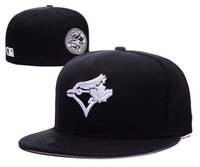Wholesale New Toronto Blue Jays Baseball Cap Front Logo Alternate Fitted Hats wicks away sweat Adult Sport Caps