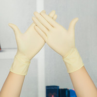 Wholesale Disposable gloves latex rubber gloves Examination Gloves pairs
