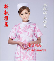 beautiful oral - The new short Long sleeve broken beautiful nurse fission summer uniform for women s and children s clothing beauty take oral doctors take cl