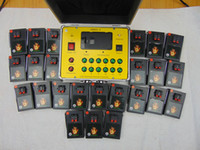 Wholesale New Year use AC Smart remote Channel Fireworks Firing system Radio fire Waist type remote Electronic Wire fireworks display