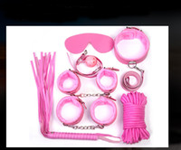Wholesale Fun seven Set thick plush leather adult toys adult sex supplies alternative bundled Bound
