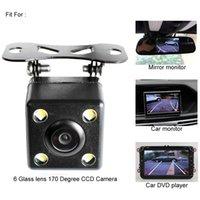 backup tracks - Special Glass Lens Degree HD CCD Intelligent Reversing Trajectory Tracks Rear View Camera Reverse Backup Parking Camera
