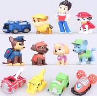 Wholesale Kids Toys Puppy Dogs Action Figures Patrulla Canina Toys Puppy Patrol For Children Boy Gift Brinquedos Canina