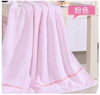bath towel outlet - Factory outlets plain cotton jacquard bath towel Water Cube