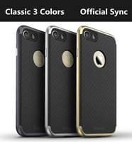 Wholesale 100 iPaky Hybrid PC Bumper Silicone TPU Back Cover Case iPhone Plus iPaky Bumper Silicone Case