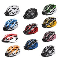 Wholesale Outdoor Cycling Road MTB Mountain Bike Helmet Ultralight Bicycle Safety Helmet In mold Helmet Color