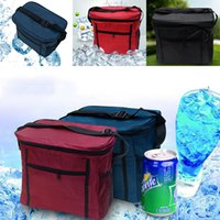 Wholesale Brand New Lunch Bags Solid Color Lunch Tote Bag Travel School Lunch Bags Grocery Bags with Zipper