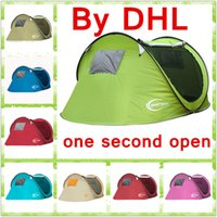 aluminum double doors - Camping Beach tent Outdoors Tents Summer Outdoors Tents Camping Shelters for People Double Aluminum Rod Against DHL Fast Shipping
