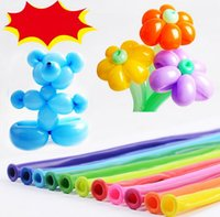 Wholesale Mix color balloon Wedding Birthday Party Decoration Magic Ballons Assorted Latex Long Balloon JF