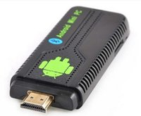 Wholesale by dhl or ems pieces New Bluetooth UG007 II Mini PC Android Google TV Dongle Dual Core Cortex A9 WiFi P GB GB