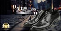 b grade hot - Hot Fashion High grade New bullock crocodile grain men s Dress shoes leather men business suits low help shoes men s Genuine leather