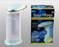 Wholesale ABS Automatic Soap Dispenser Sensor Auto Sanitizer Lotion Dispenser Liquid Soap Dispenser for Kitchen Hotel