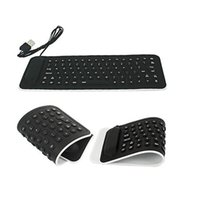 best wired keyboard - Best Price Portable Gaming Keypad Silicone Keyboard Foldable for Laptop Notebook Wired Keyboard
