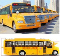 baby toys usa - baby toy car model usa big school bus pull back with door music light shining cool high performance electric kids toy child gift
