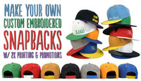 acrylic embroidery blanks - Blank Panels Acrylic Flat Brimmed Hip Hop Hats Custom Embroidery Printing Logo Size For Adult Men Women Kids Personalized Gifts Plain Caps