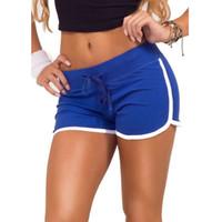 Wholesale Plus Size Women Sports Yoga Shorts Workout Fitness Running Sport Shorts Cotton High Waist Gym Cycling Sport Short Feminino