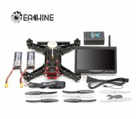 battery operated monitor - Original Eachine Racer FPV Drone Built in G Transmitter OSD With Inch CH Monitor HD Camera ARF