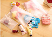 baby shoe storage - 4 SIZES waterproof portable traving bags clothes bag shoes storage bags baby gift bag zipper storage bag makeup case kids gift bags