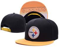 animal pittsburgh steelers - 2016 New style Design Adjustable Pittsburgh Women Men Steelers Snapback Hats Fashion Football Cap Hat Hip Hop men women Caps
