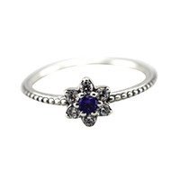Wholesale Authentic Sterling Silver Rings Forget Me Not for women Fashion Jewelry x