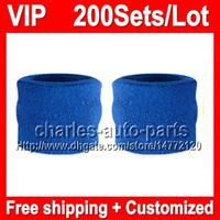 sweatbands - VP Price NEW Top Quality Wrist support VP423 blue yellow red black white wristbands sweatbands wristband sweatband Factory onlie store