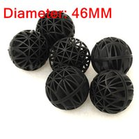 Wholesale 50pcs Aquarium mm Biological Bio Balls Filter Media with Sponge for Fish Tank Koi Pond Filter Pond and Sump Filters