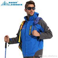 best quality ski jackets - Best Quality Winter Men s SoftShell Outdoor Waterproof Windproof Jacket Casual Sports Warm Ski Fleece Bomber Jacket Suit Womens Kids To
