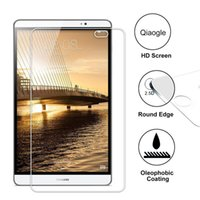 Wholesale Qiaogle Anti explosion Tempered Glass Screen Protector Ultra Hard For Huawei MediaPad M2 inch Premium Screen Protector