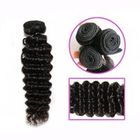 Wholesale 7A Brazilian Indian Cambodian Marley deep wave hair weave virgin human hair bundles double weft hair extension pc Quercy Hair