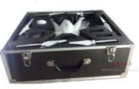 aluminum fly boxes - FPV Aluminum Case HM Box Outdoor Protection Flying Fairy for RC Hexacopter Walkera Tali H500 RTF