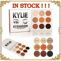 Wholesale Latest Kylie Cosmetics Jenner Kyshadow eye shadow Kit Eyeshadow Palette Bronze Preorder Cosmetic Colors